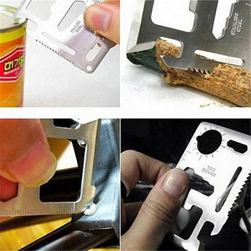 11 in 1 Multi Tool Credit Card