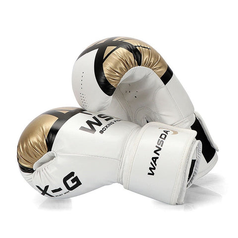 Image of MMA Leather Boxing Gloves