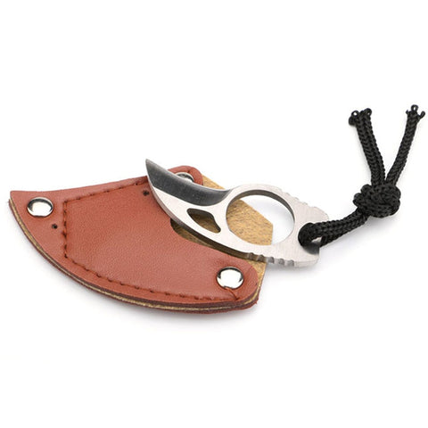 Image of Steel Finger Claw Karambit Knife