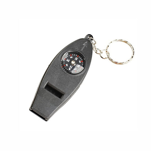 4 in1 Outdoor Camping Emergency Whistle