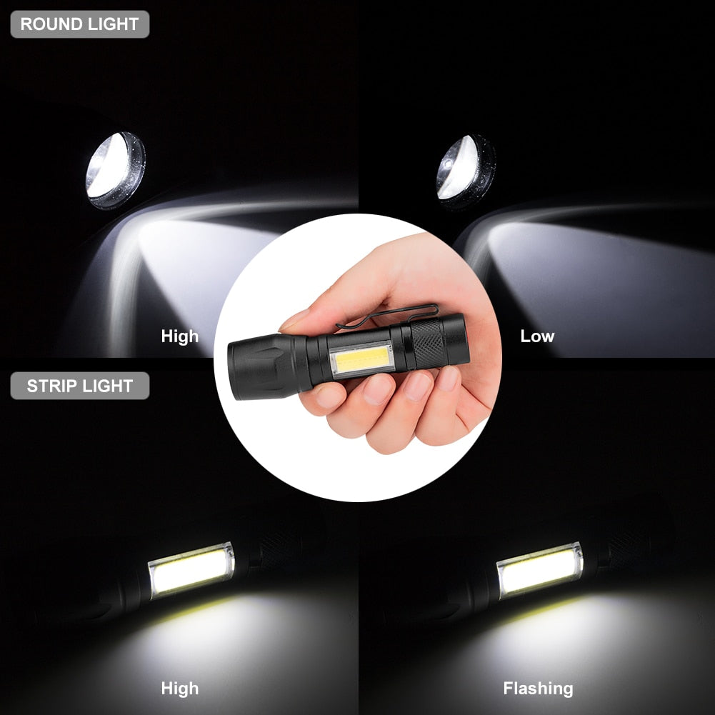 LED Super Bright Waterproof Flashlight