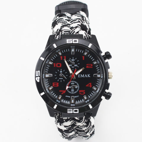 Multifunctional Survival Watch