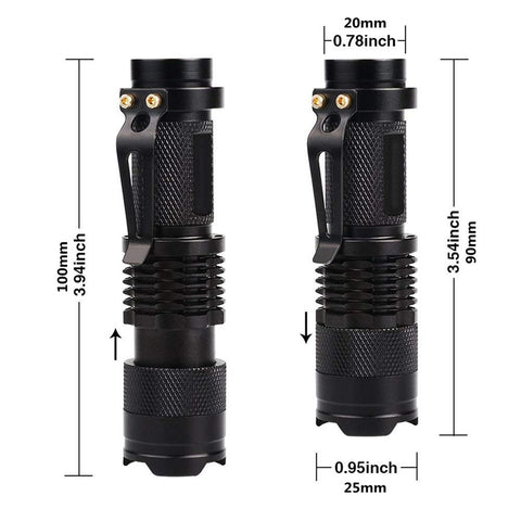 Image of LED UV Flashlight Ultraviolet Torch
