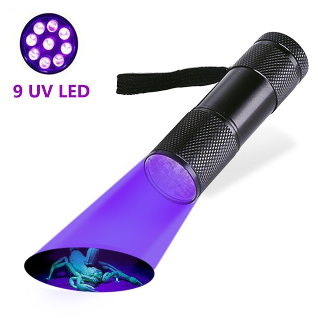 High Quality UV Light Torch Light