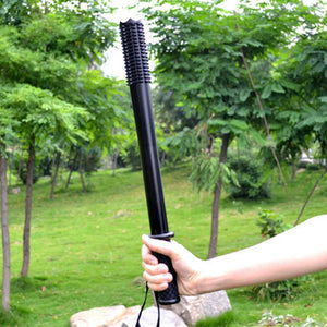LED Flashlight Telescopic Zoom Baton
