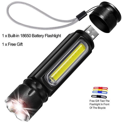 Image of 5000LM Multifunctional LED Flashlight