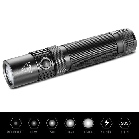 Image of USB Rechargeable LED Flashlight