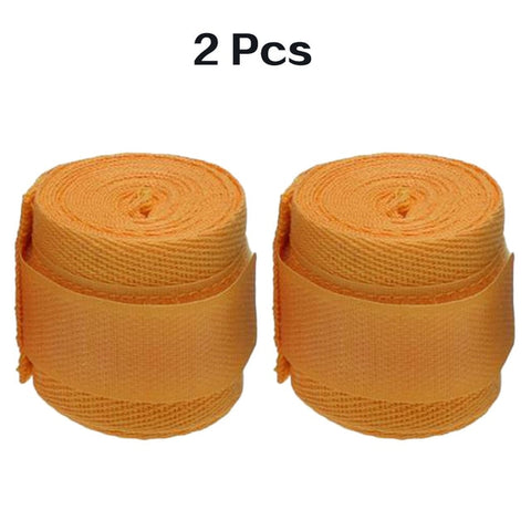Image of 1 Pair Cotton Kick Boxing Wraps Bandage