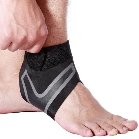 Image of Adjustable Elastic Ankle Sleeve