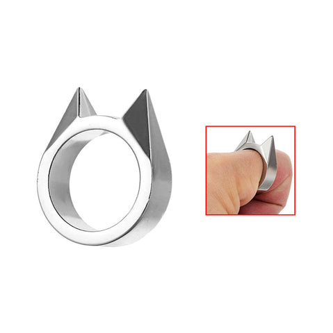 Cat Ear Shape Self-Defense Ring