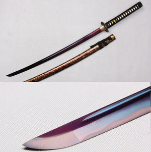 Japanese Katana Purple Plating