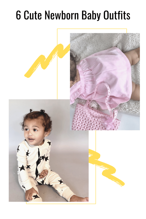 6 Cute Newborn Baby Outfits