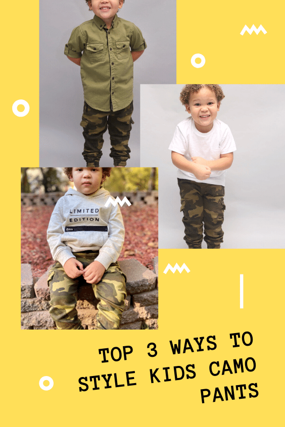 Top 3 Ways to Style Kids Camo Pants