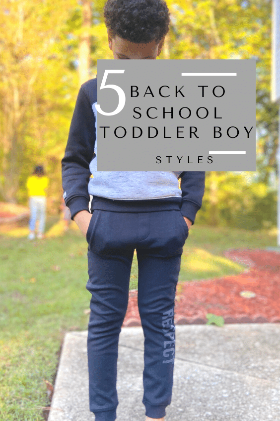 5 Stylish Back to School Toddler Boy Styles