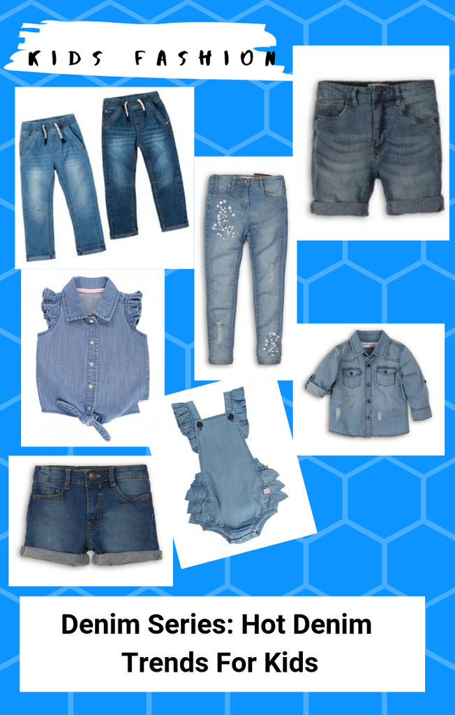2019 Denim Series: Hot Kids Denim Trends