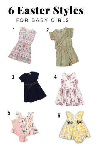 6 baby girl Easter Styles- Cliqq Clothing