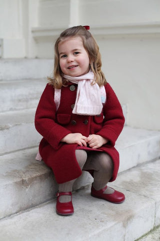 princess Charlotte in red