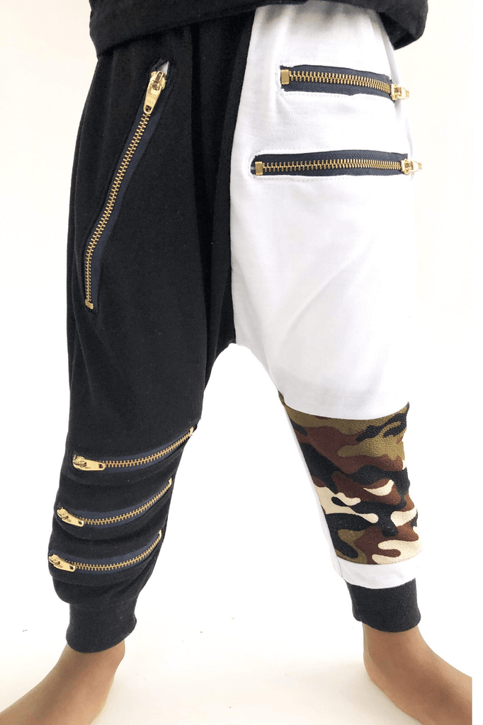 BOY CAMO JOGGERS -FX - Cliqq Clothing