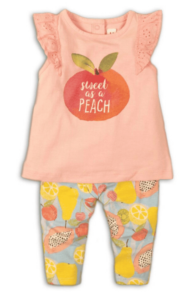 Baby Girl 2 piece Top and legging set – Sweet As A Peach