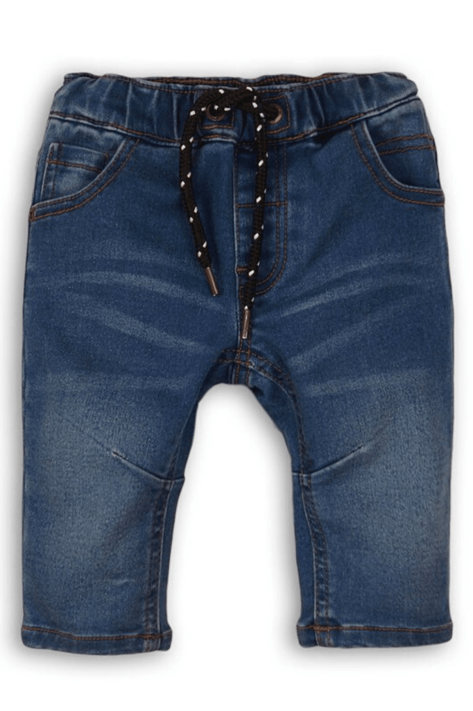 Baby Boy Denim Medium Wash Jeans | 0-24Months