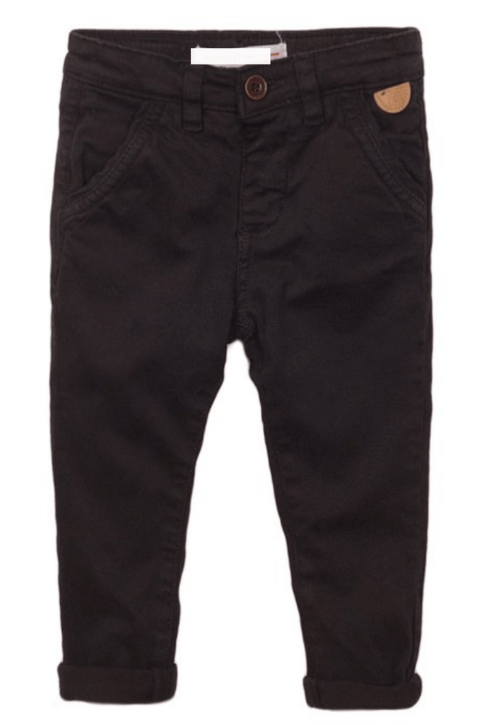 infant and Toddler Boys Navy Chino Pants