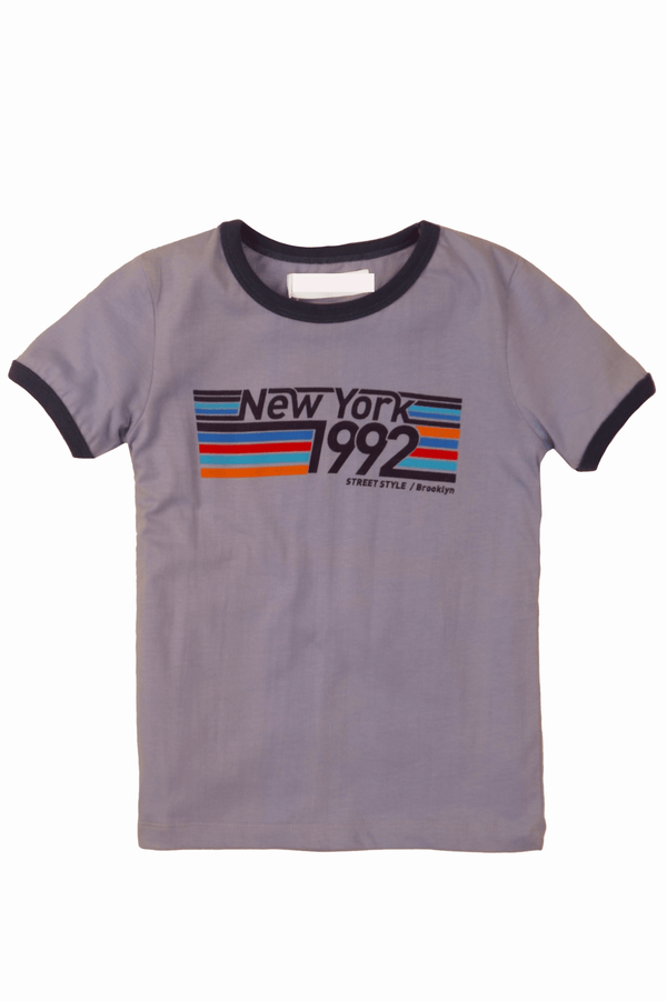 Boys New York Ringer T-Shirt