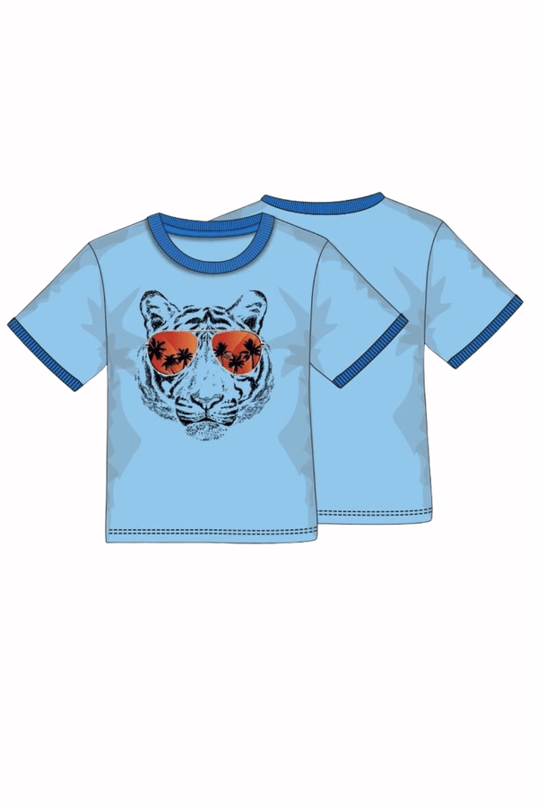 Boys Tiger Graphic T-Shirt | 9m-3T