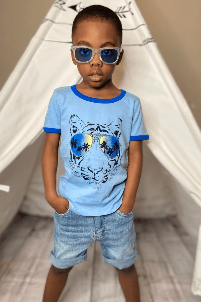 Boys Tiger Graphic T-shirt