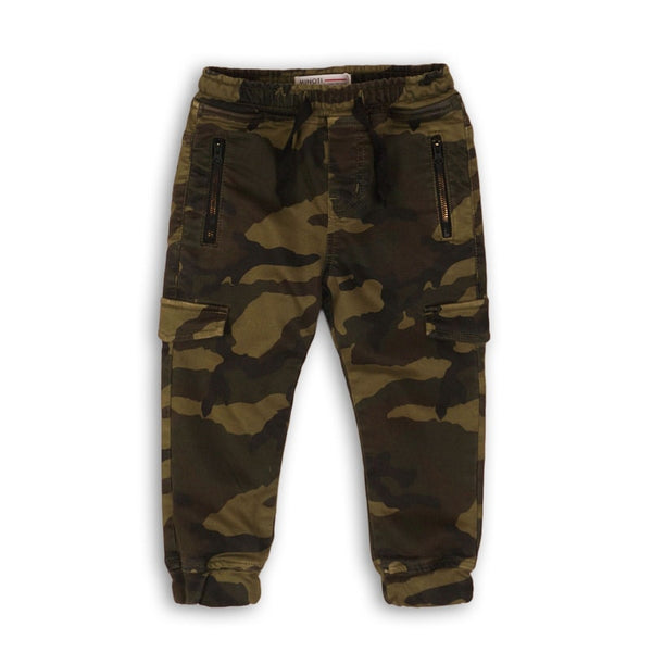 CAMO BOY PANTS - DAX (3-8Years) - Cliqq Clothing