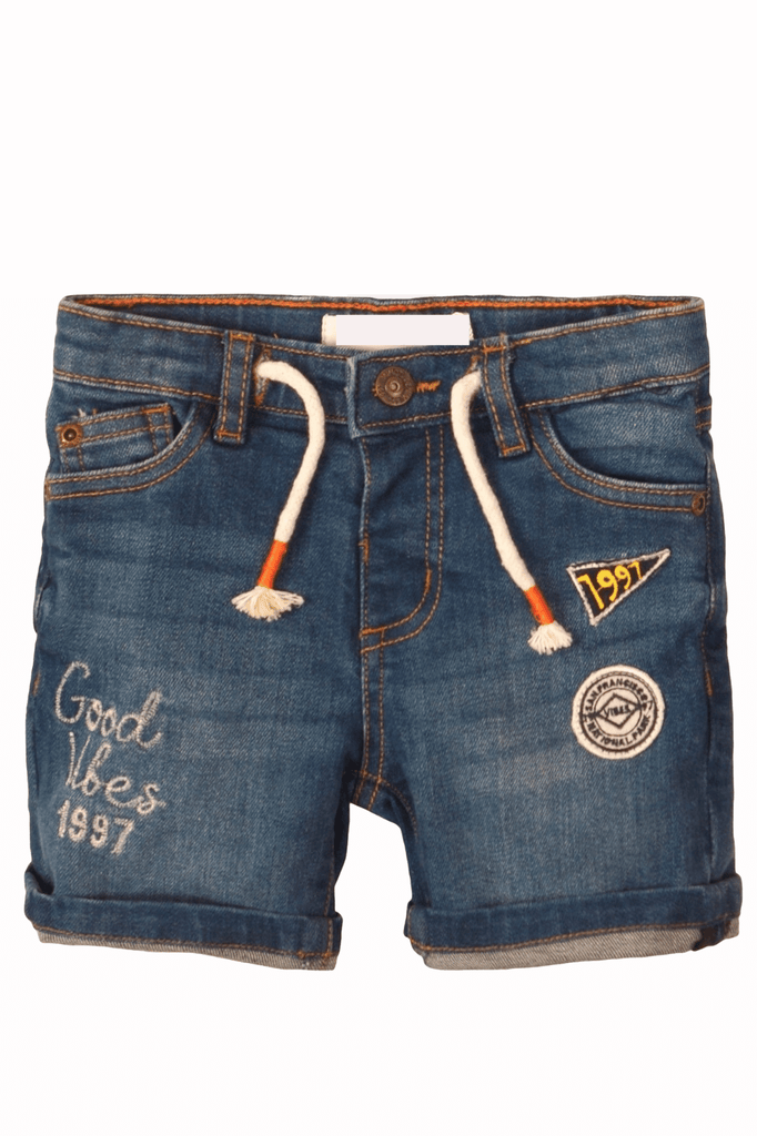 Denim Boys Roll-up Jeans Shorts