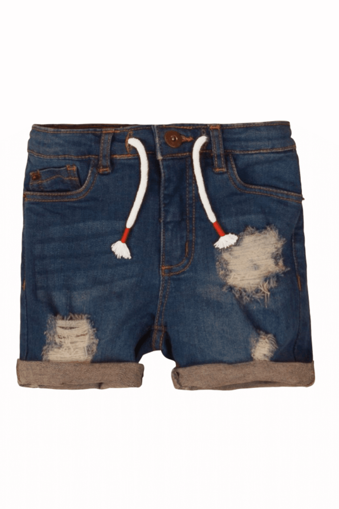 Distressed Denim Boys shorts