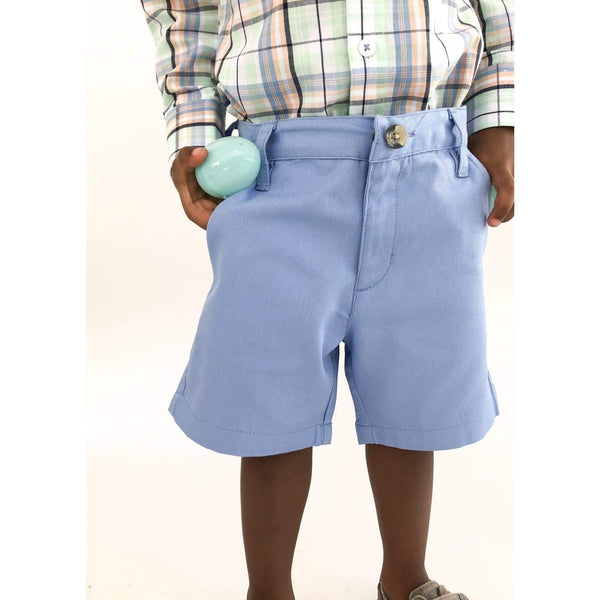 CLASSIC BLUE CHINOS (2-6Years) - Cliqq Clothing