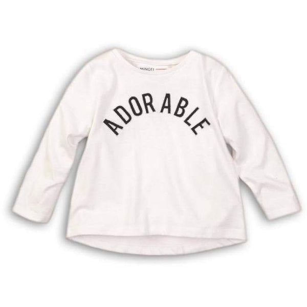 Baby Girl Long Sleeve T Shirts - ADORABLE (9M-3T) - Cliqq Clothing