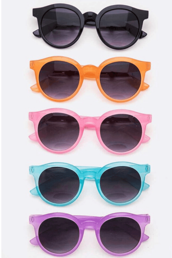 Kids Round Sunglasses  | Cliqq Clothing