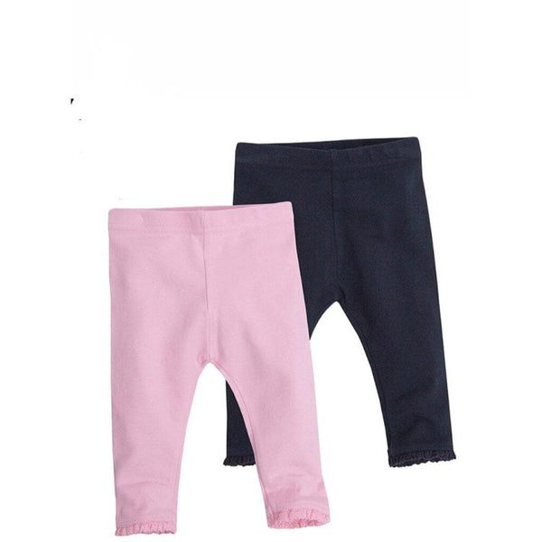 Ruffle Bottom Infant Leggings | NB-24m - Cliqq Clothing