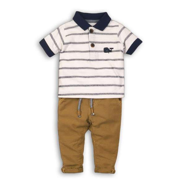 BABY BOY 2PC NAUTICAL SET -LEO (NB-24Months) - Cliqq Clothing