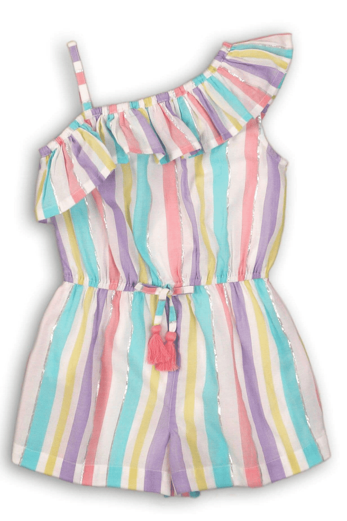 MULTICOLOR GIRL ROMPER -UNICORN (9m-8years) - Cliqq Clothing