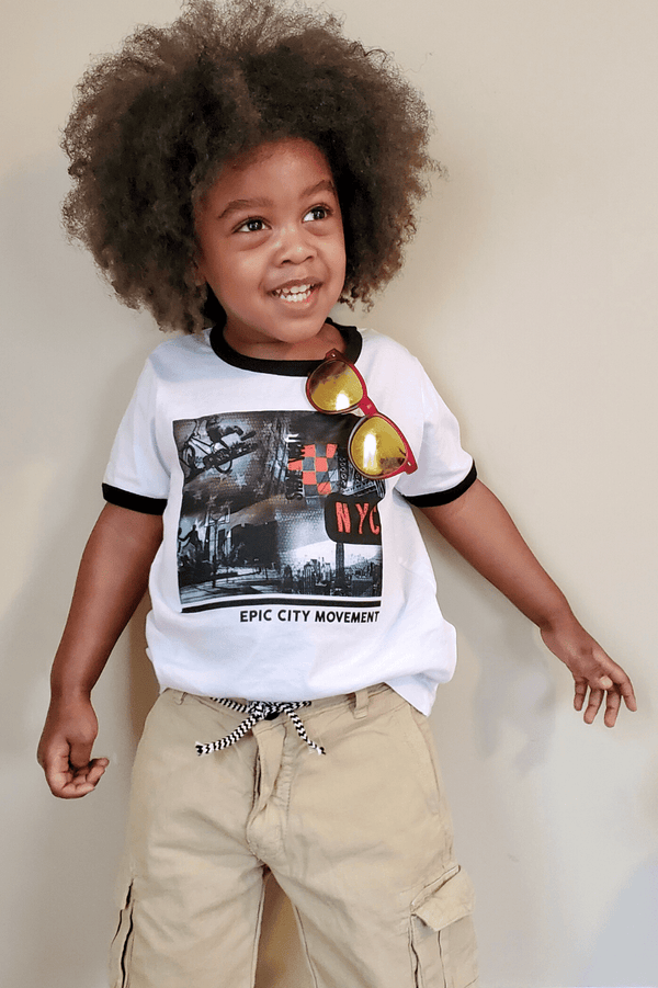 NYC Ringer  Graphic Tee For Toddler Boys