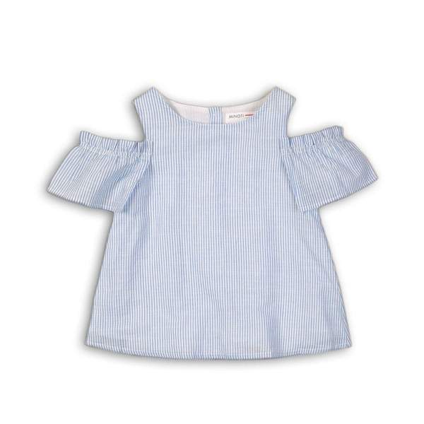 COLD SHOULDER TOP - ROSE (3-8years) - Cliqq Clothing