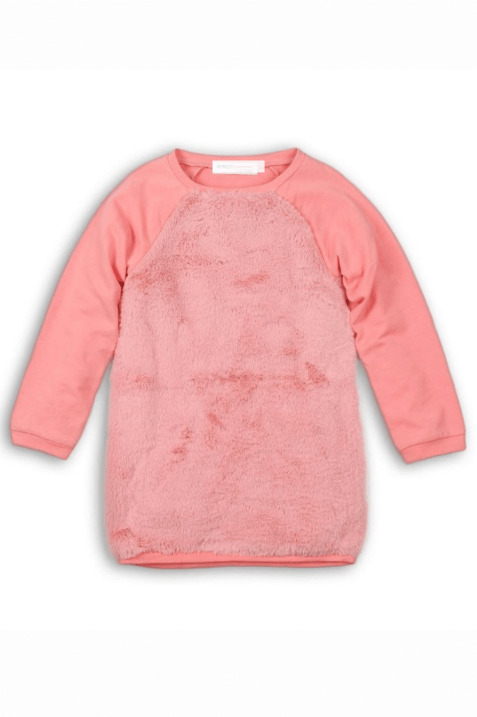 Toddler Girl Sherpa Long Sleeve Sweater
