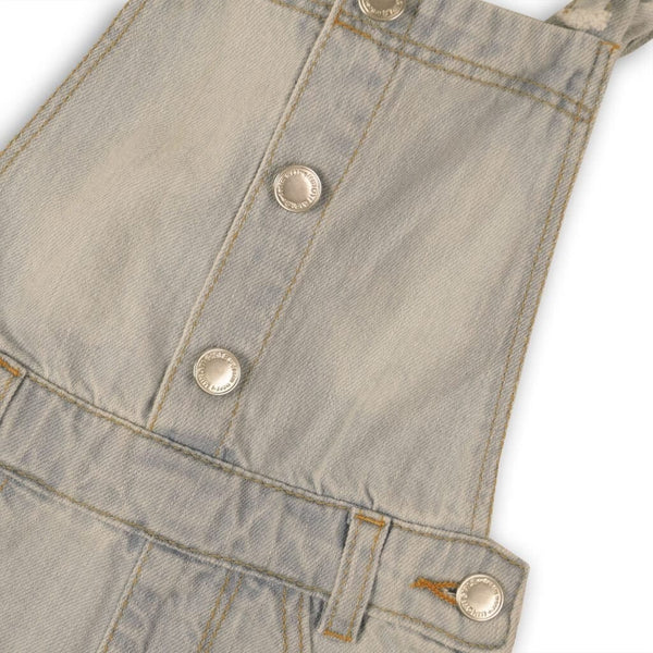 Toddler Girls Pocket Jean Shortalls