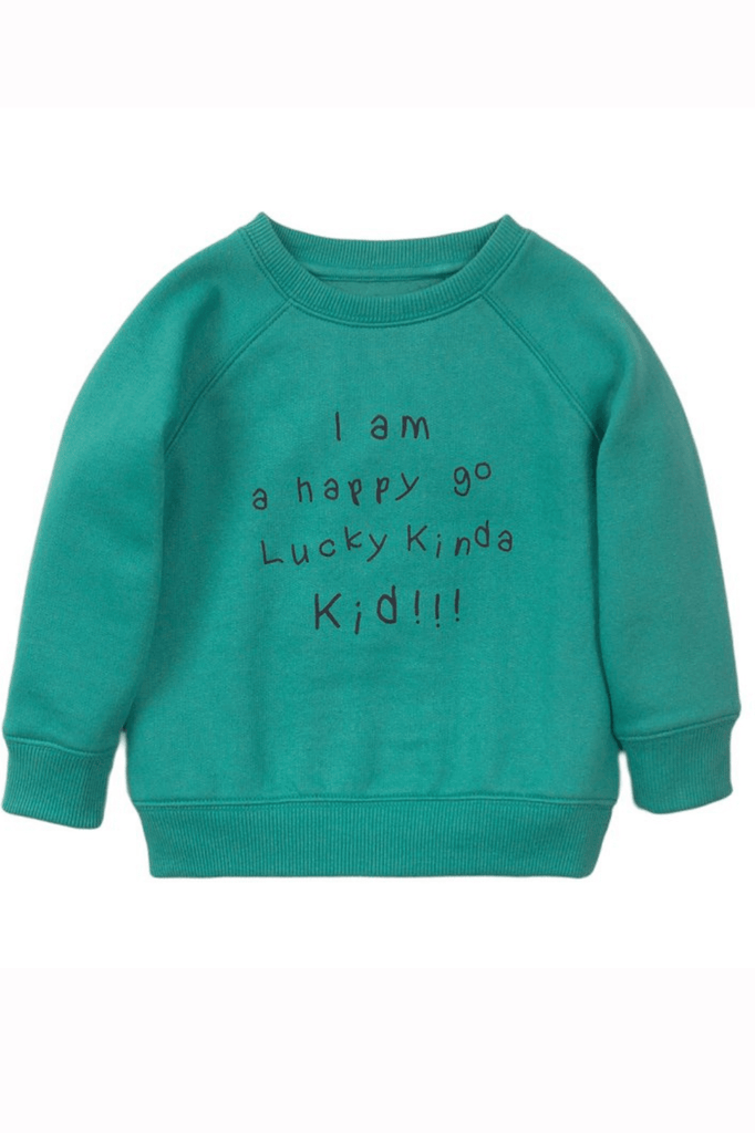 Unisex Kids Pullover Crew Sweater