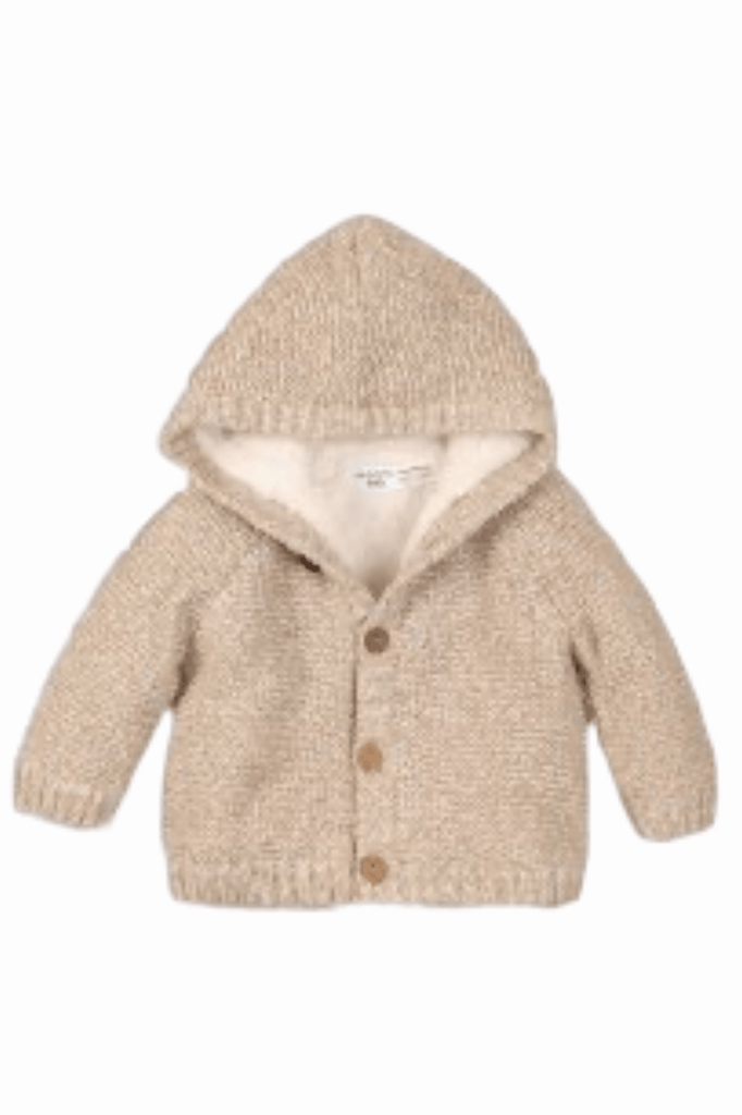 Unisex  Baby Sherpa-Lined Hooded Sweater