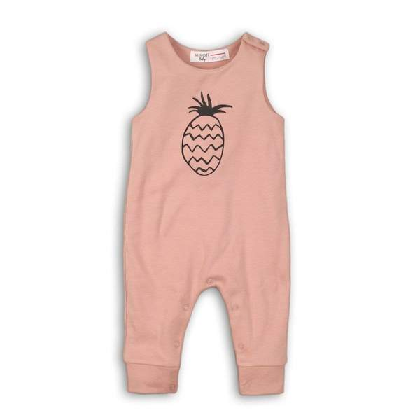 ORGANIC BABY FOOTLESS ROMPER -ADA (NB-12Months) - Cliqq Clothing