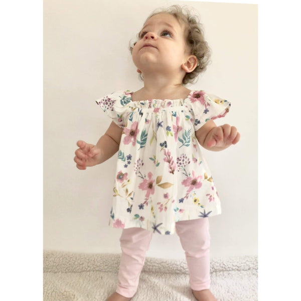 Baby Girl Floral Set-Maya (NB-12m) - Cliqq Clothing