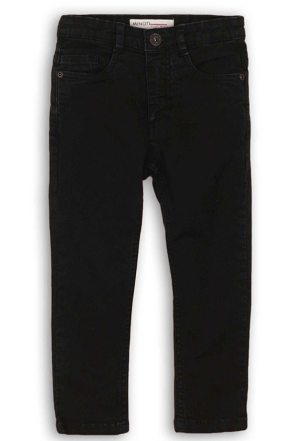 BLACK STRETCH JEANS - ASH  (3-8years) - Cliqq Clothing
