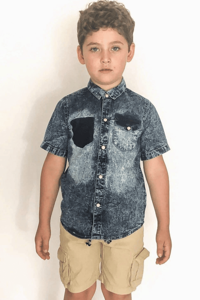 Boy Cargo Shorts- Kace (3-8years) - Cliqq Clothing