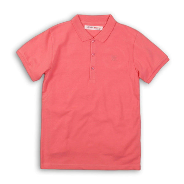 Boy Pink Polo Shirt- Jayden (3-8years) - Cliqq Clothing
