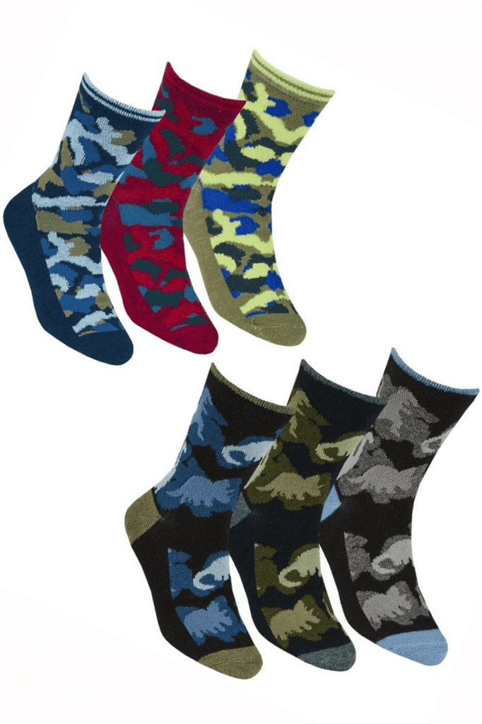 Toddler Boy Camouflage Socks