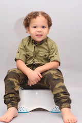 CAMO BOY PANTS - DAX (3-8Years)